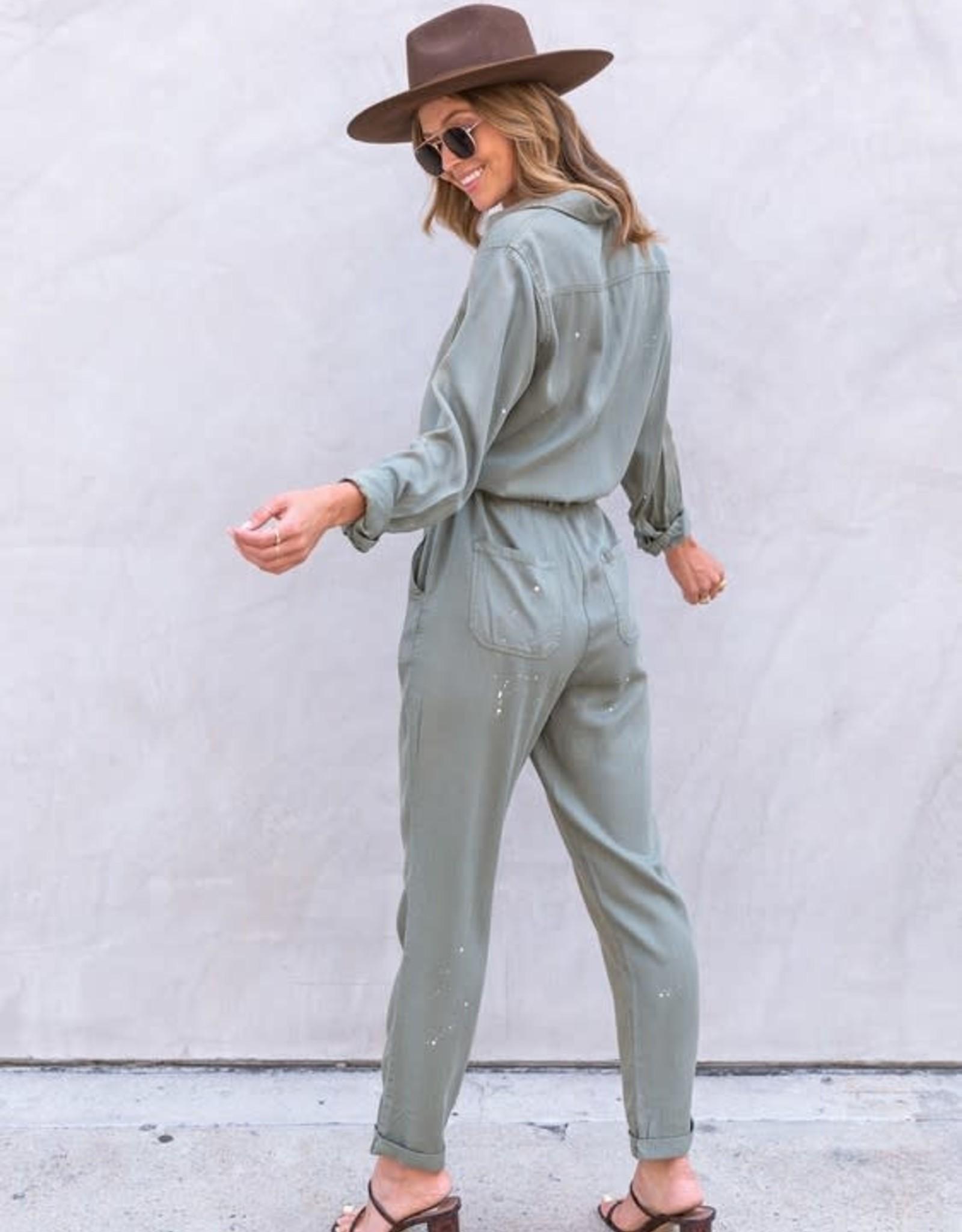 Love Stitch Laya Utility Jumpsuit