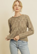 Scout the Label Emery Open Knit Top