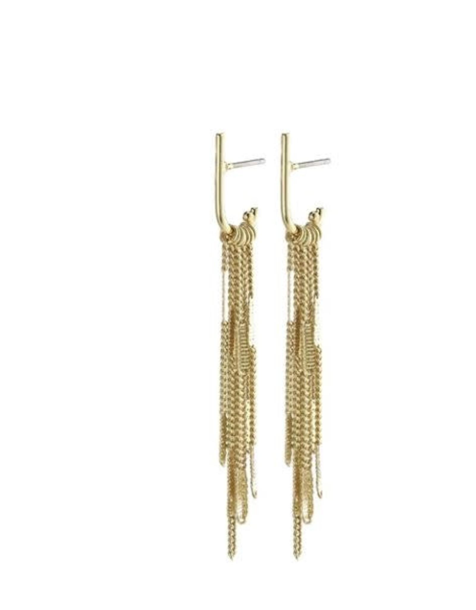 Pilgrim Kaylee Fringe Earrings
