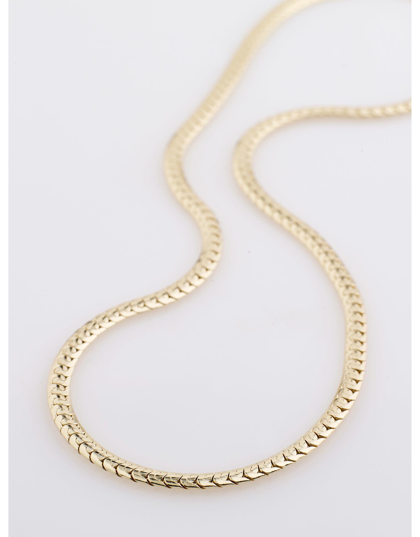 Pilgrim Talia Snake Chain Necklace
