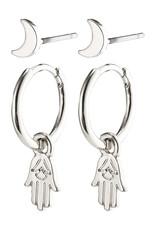 Pilgrim Nyla Stud & Hoop Earring