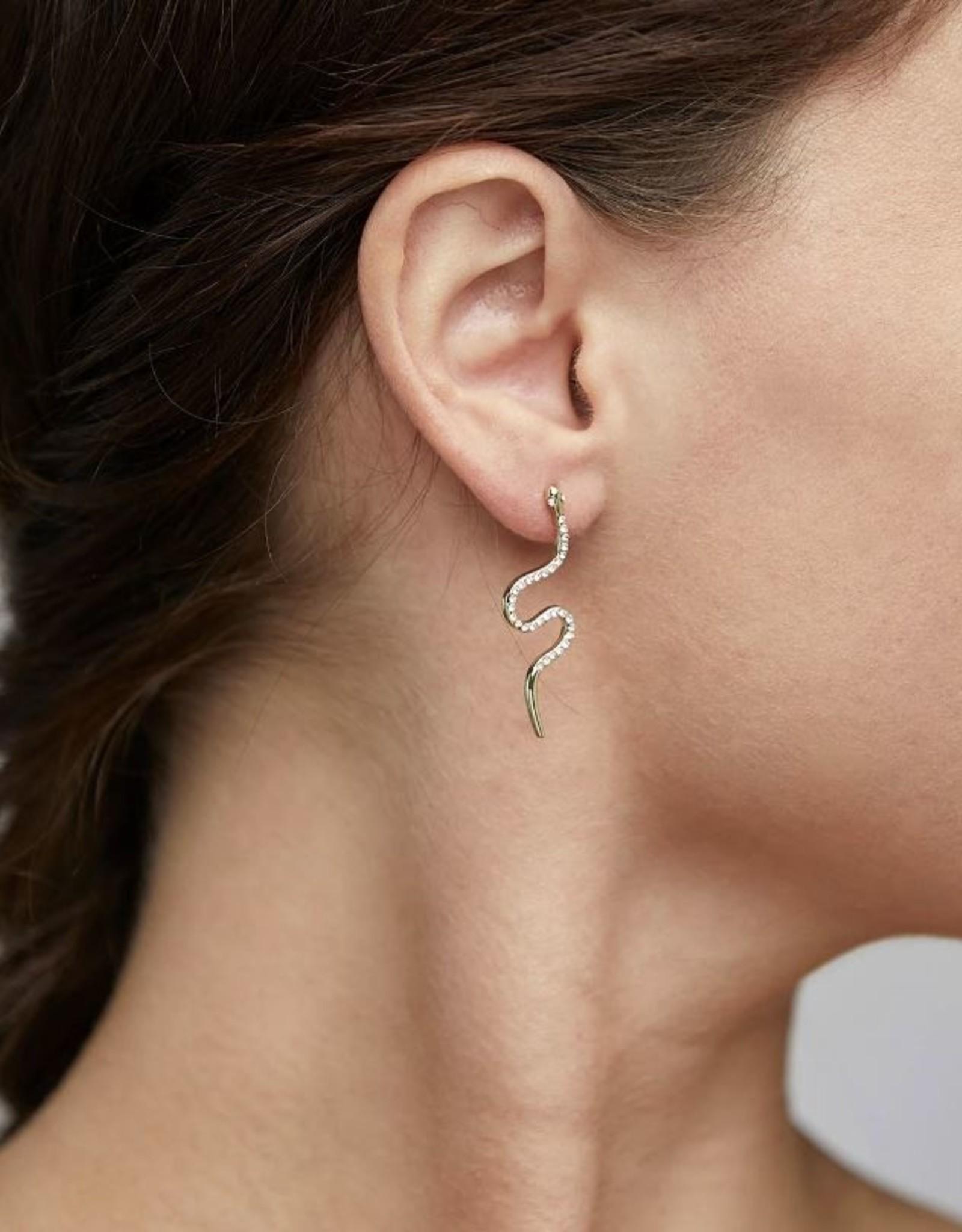 Pilgrim Dagny Snake Earrings