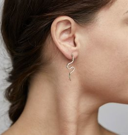 Pilgrim Dagny Snake Earrings
