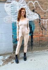 Scout the Label Donna Wrap Top Jumpsuit