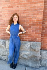 Love Stitch Katie Zipper Jumpsuit