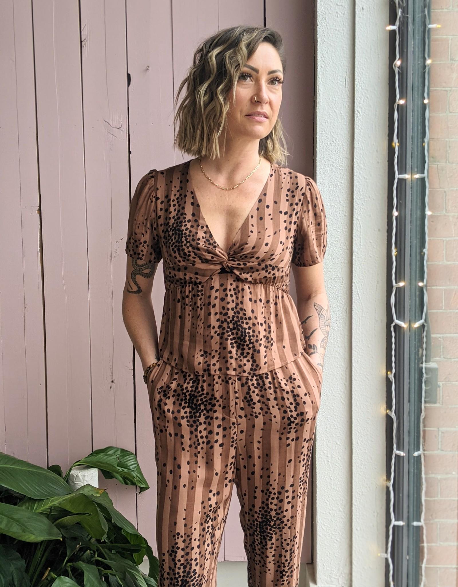 Saltwater Luxe Haylen  Cheetah Pant
