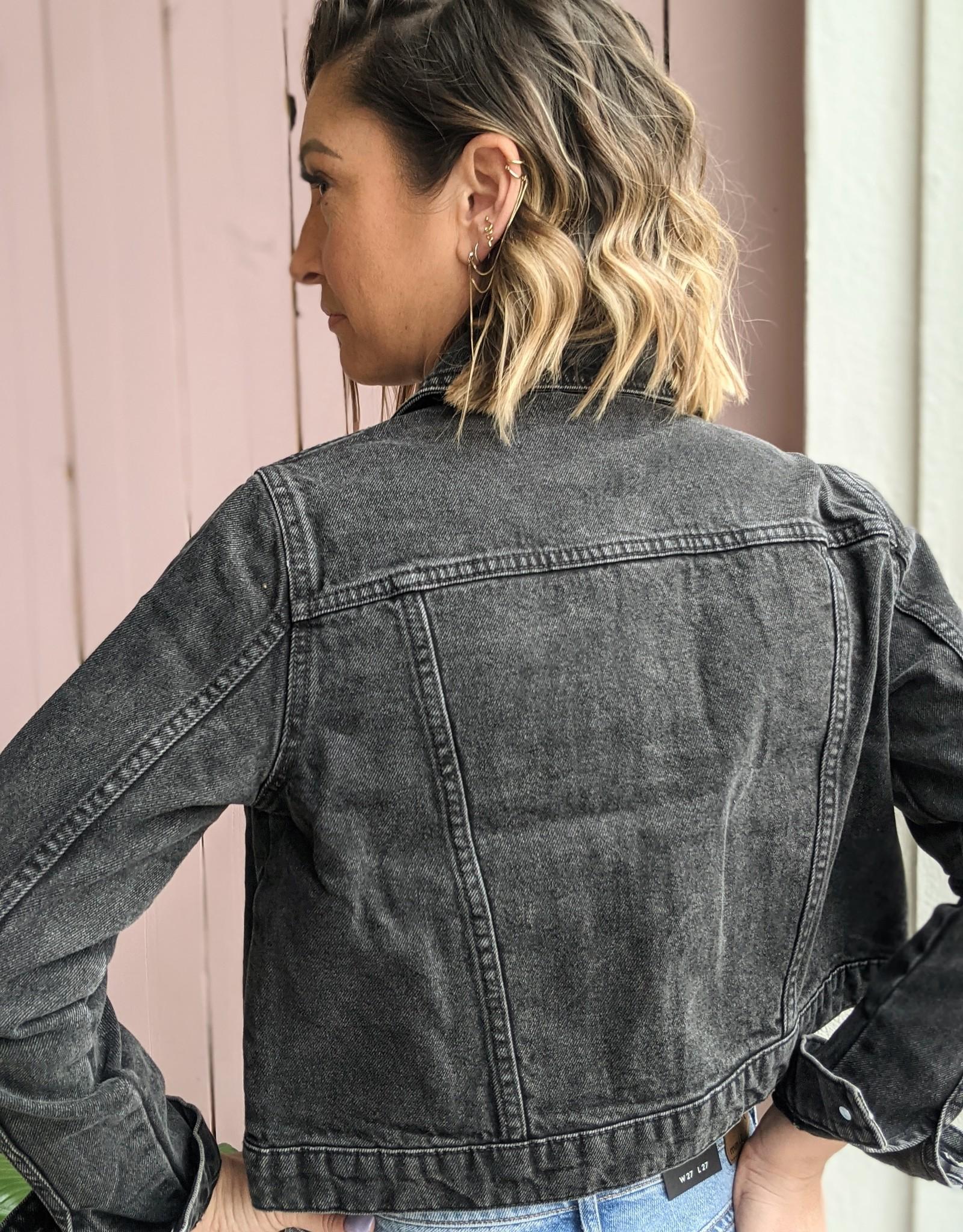 Noisy May Mikky Crop Denim Jacket