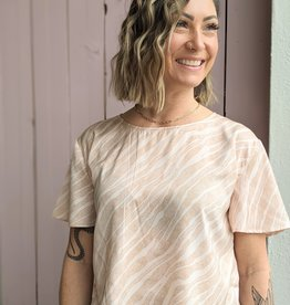 Saltwater Luxe Gabrielle Blouse Short Sleeve