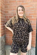 brunette the label Leopard Bike Shorts