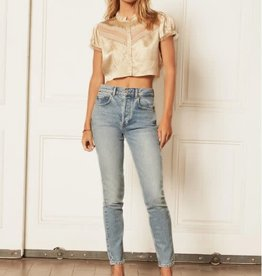 Boyish Jeans The Billy Stretch High Rise Skinny