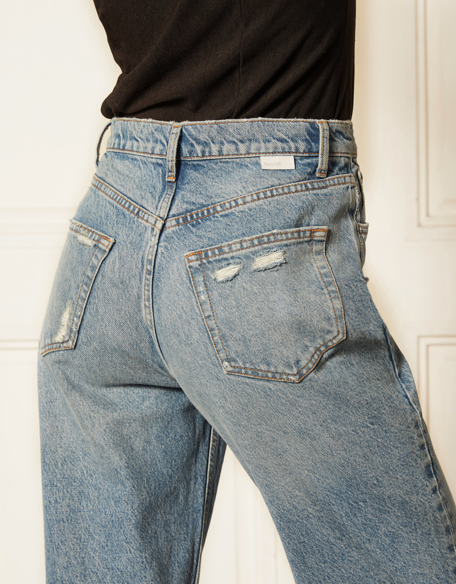 Boyish Jeans The Toby High Rise Relaxed Taper