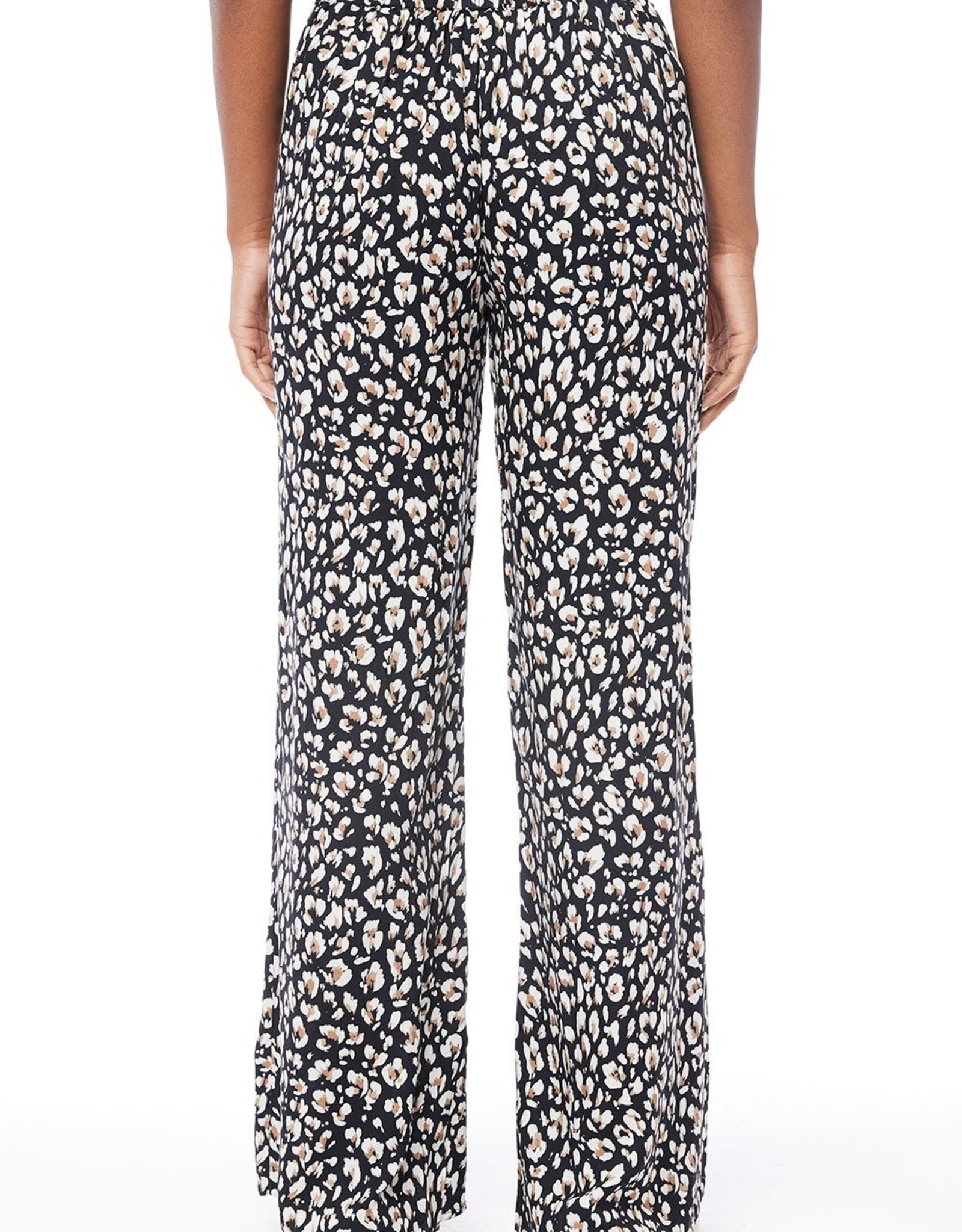 Saltwater Luxe Johanna Flowy Wide Leg Leopard Pant