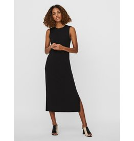 Vero Moda Lydia Ribbed Halter Calf Dress