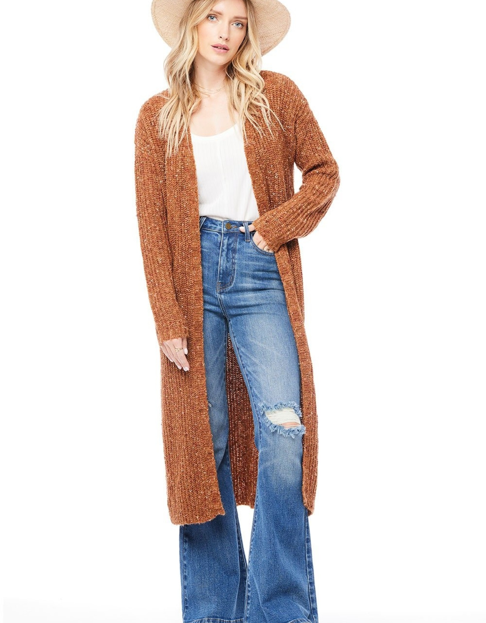 Saltwater Luxe Cole Long-Length Duster Sweater