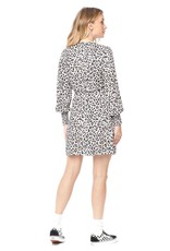 Saltwater Luxe Amelie Long Sleeve Leopard Mini Dress
