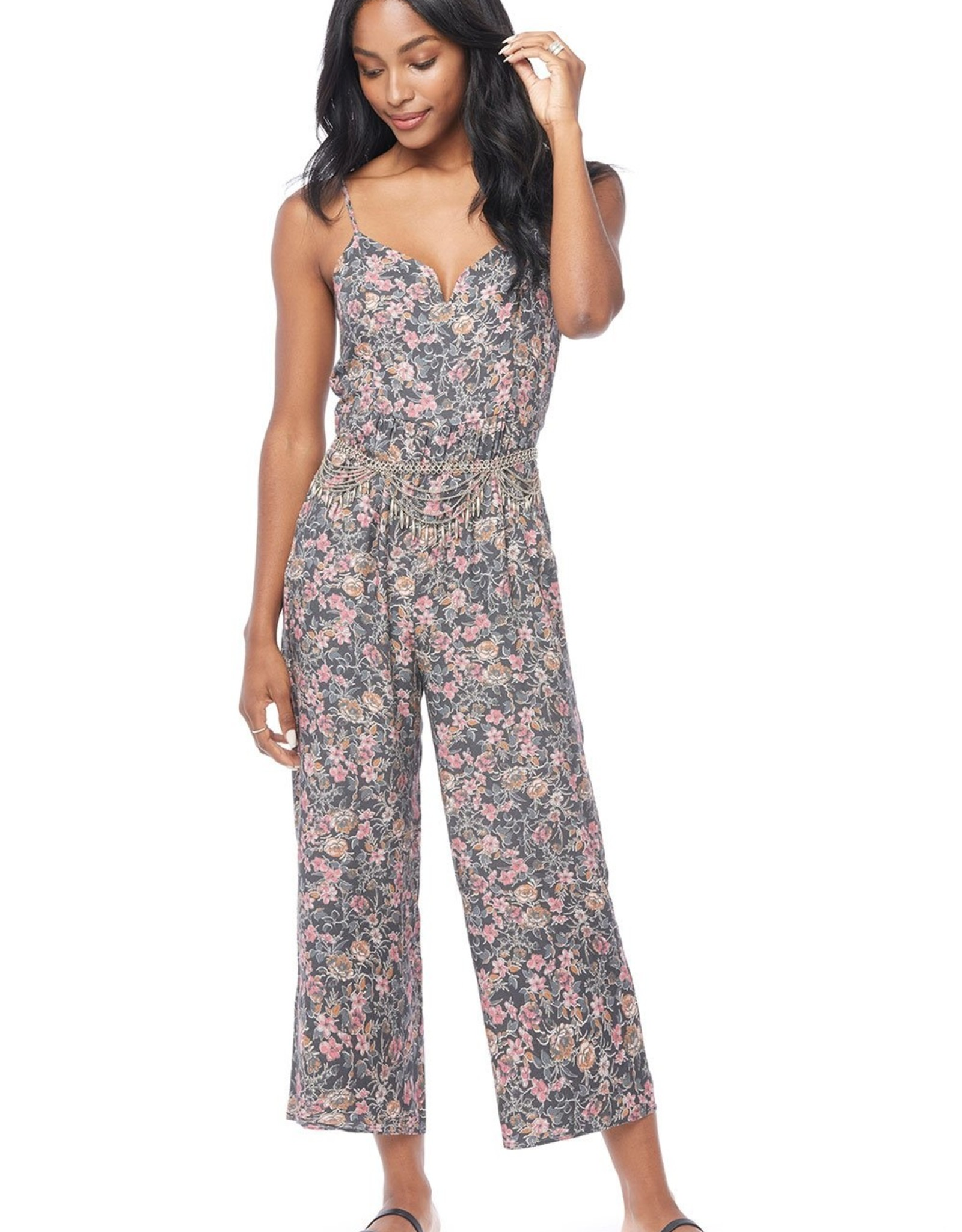 Saltwater Luxe Slater Strappy Floral Jumper