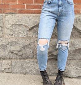 Vero Moda Joana High Rise Straight Cut Jeans
