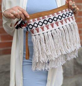 Love Stitch Woven Bag