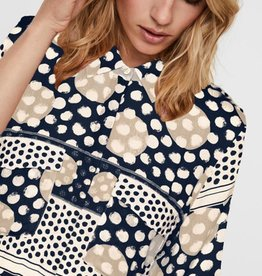 Vero Moda Anna Button-Up Shirt-Dress