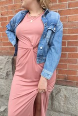 Vero Moda Ava Twist Front Maxi Dress