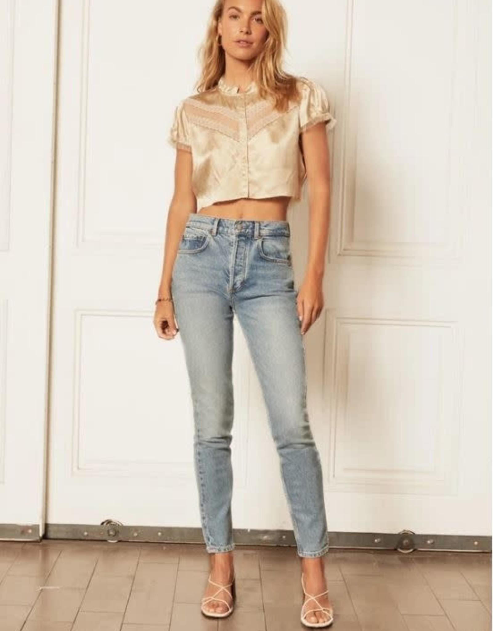 Boyish Jeans The Billy Stretch High Rise Skinny