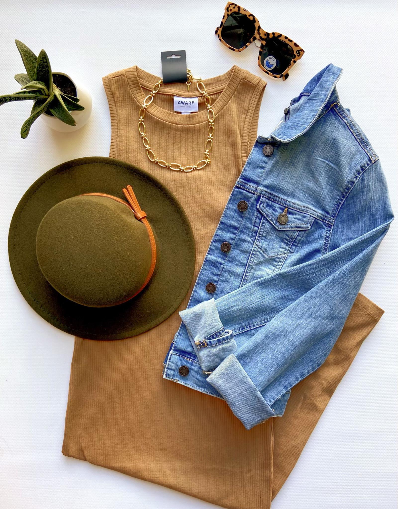Vero Moda Nina Bodycon Halter Neck Midi-Dress