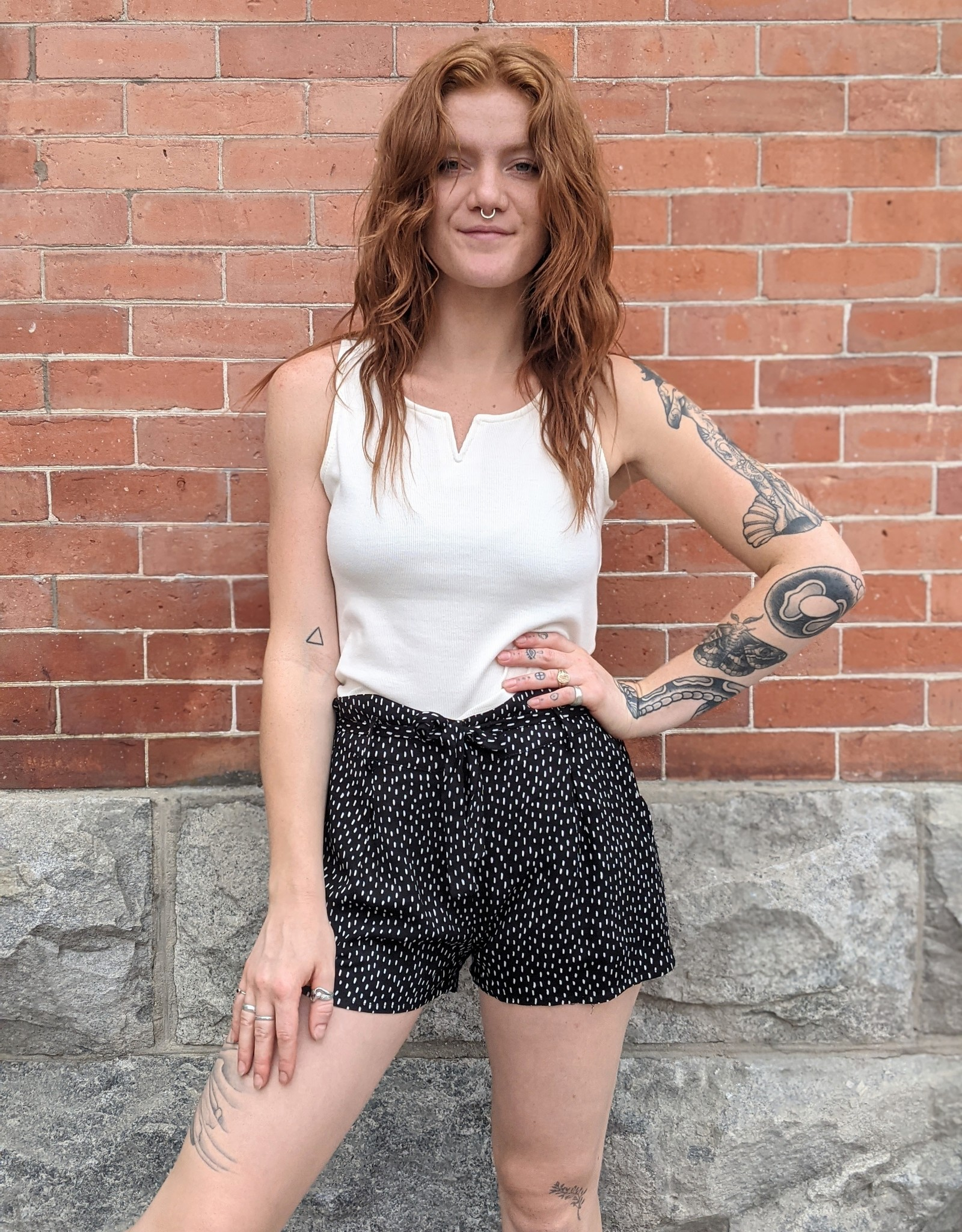 Saltwater Luxe Tracey Shorts with Tie Belt