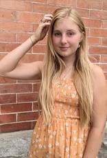 Saltwater Luxe Jacey Smocked Bodice Midi-Maxi Dress