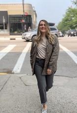 Mavi Soho Smoke Grey Girlfriend Jeans