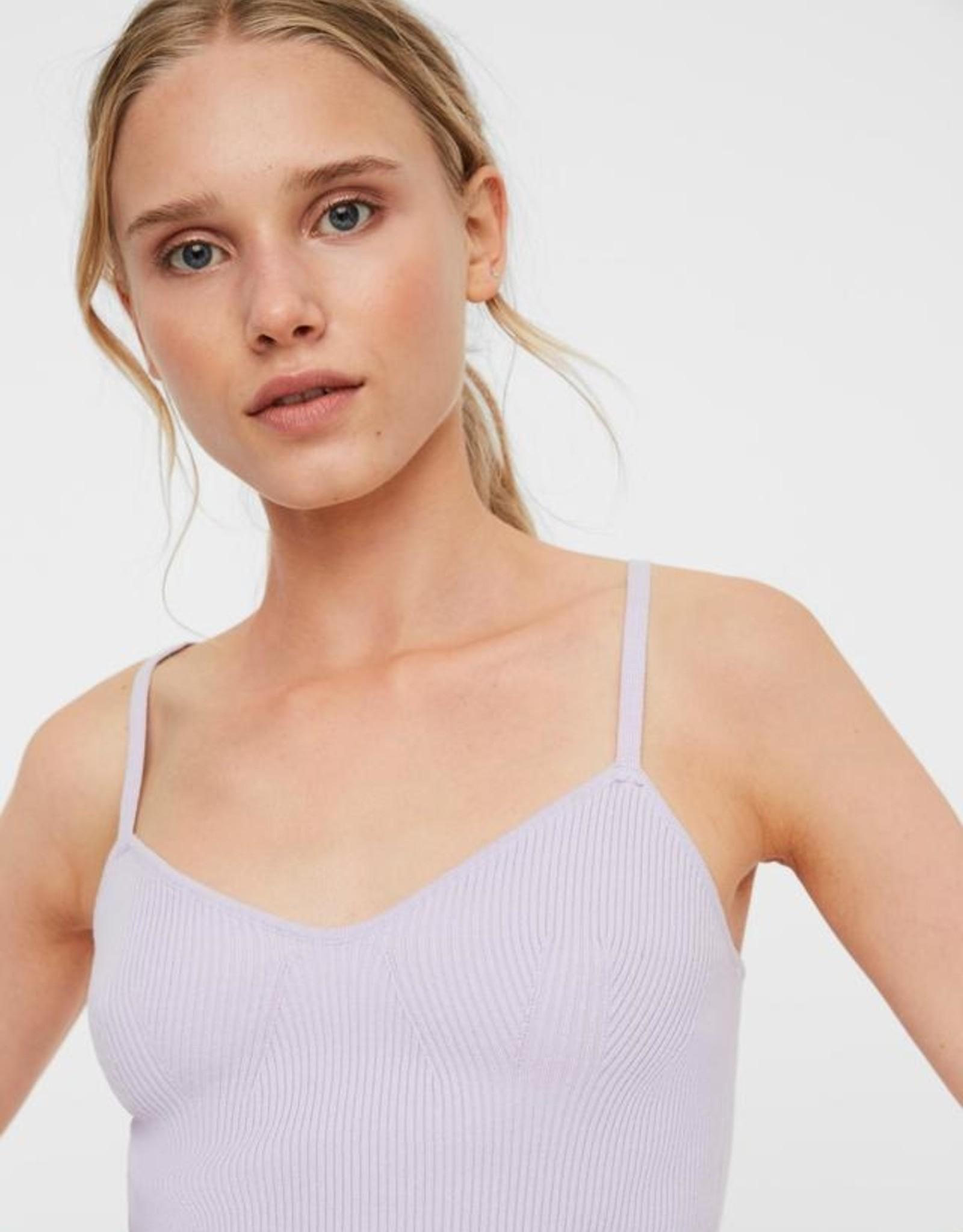 Vero Moda Lonnie Ribbed Knit BodySuit