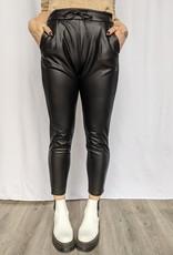 Vero Moda Eva Faux Leather Jogger