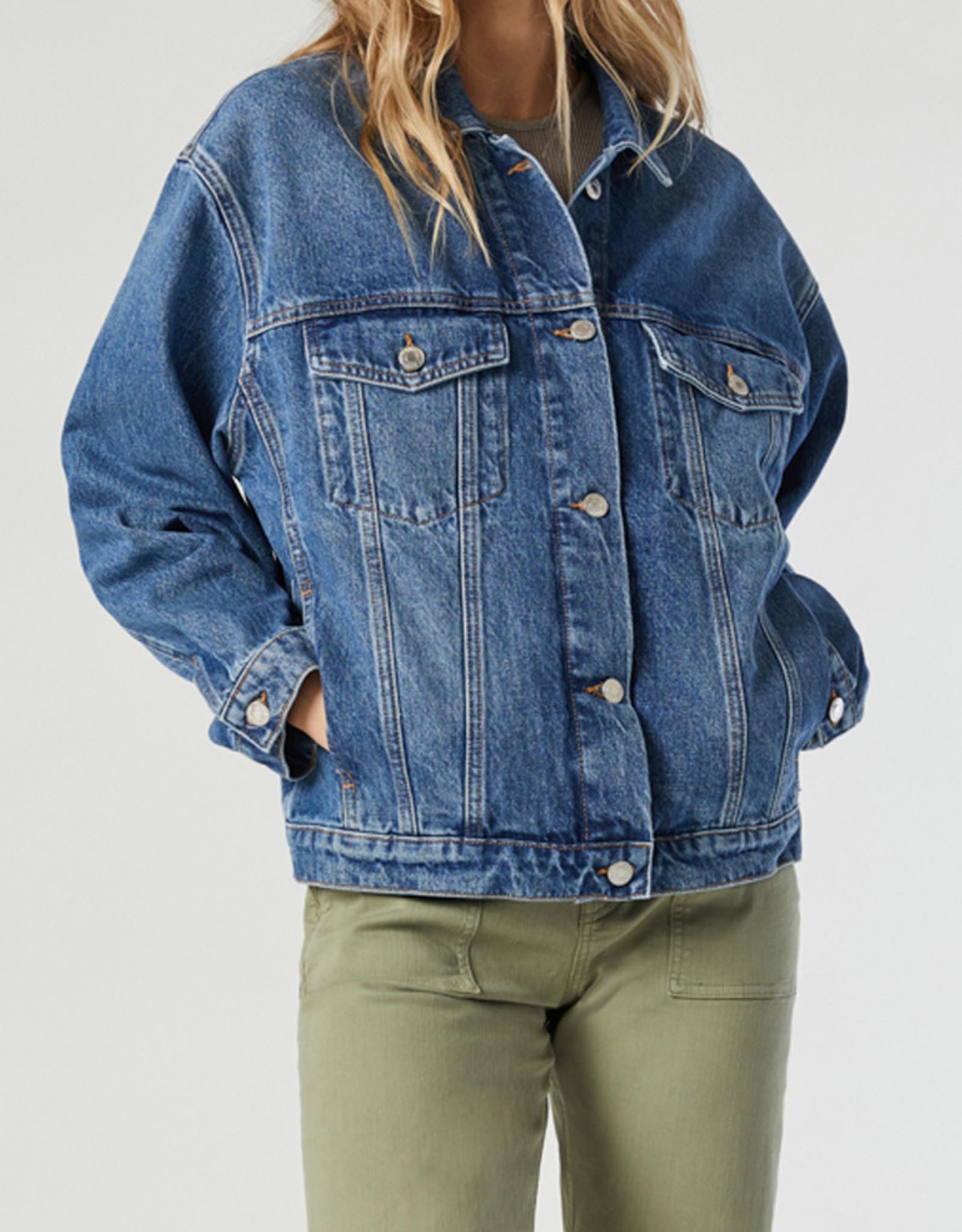 Mavi Marta Shaded Blue Denim Jacket