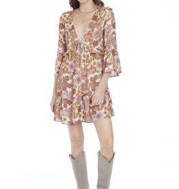 Saltwater Luxe Penny 3/4 Sleeve Retro Mini Dress