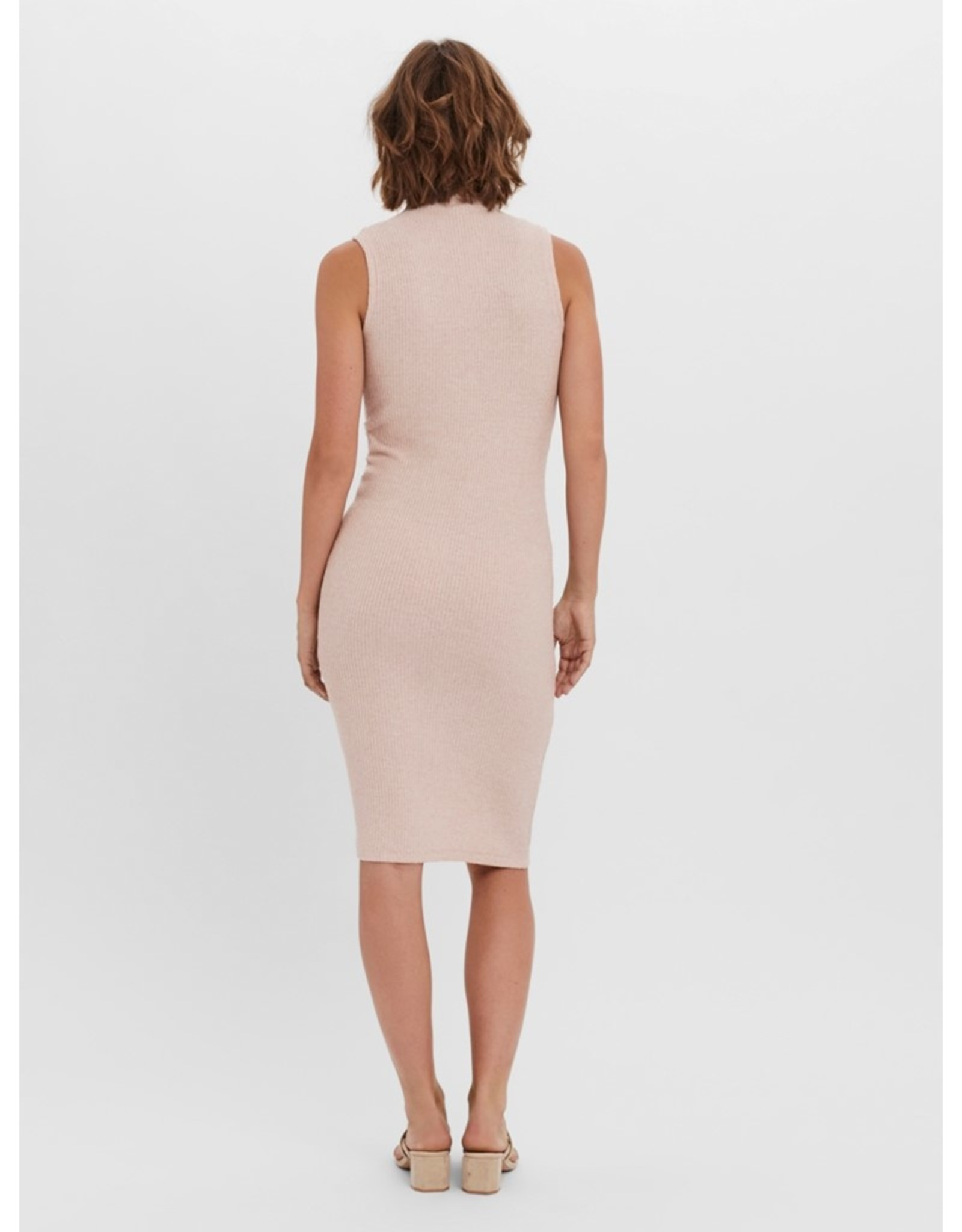 Vero Moda Tiana Mock-Neck Midi Dress