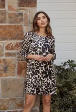 Saltwater Luxe Jack 3/4 Sleeve Mini Dress