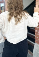 Saltwater Luxe Ruby Long Sleeve Cable-Knit Sweater