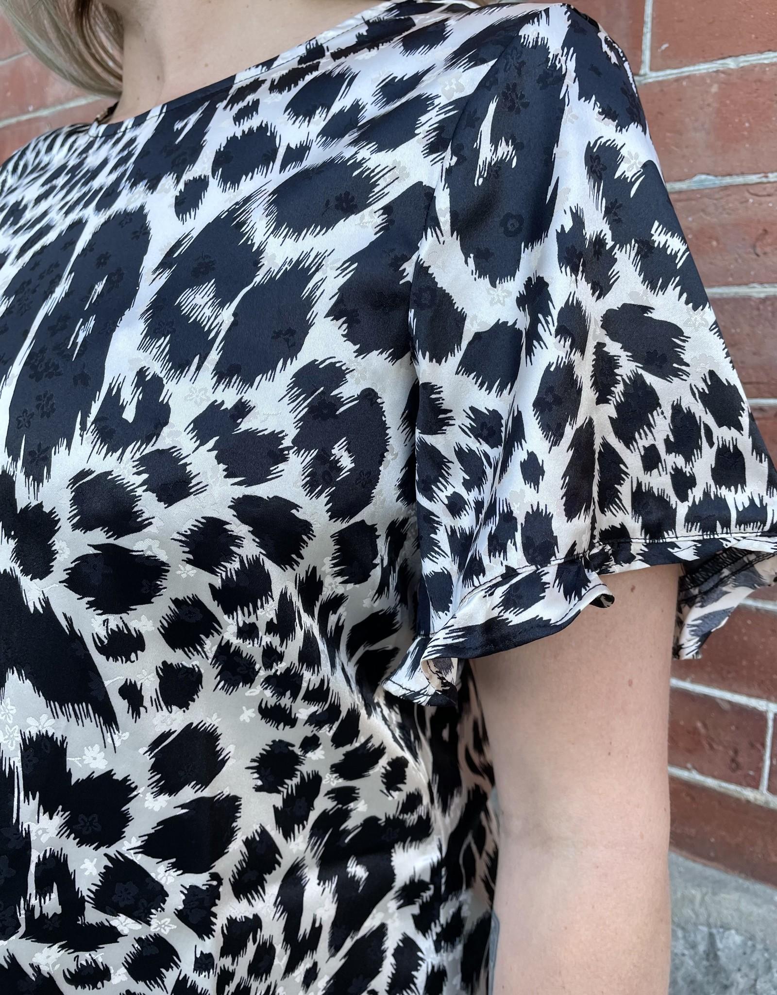 Saltwater Luxe Nina Short Sleeve Blouse