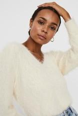 Vero Moda Patty V-Neck Cable-Knit Sweater