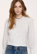 Heartloom Avalon Ribbed Knit Crew Neck Sweater