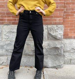 Dr. Denim Echo High Waist Straight Leg Jean