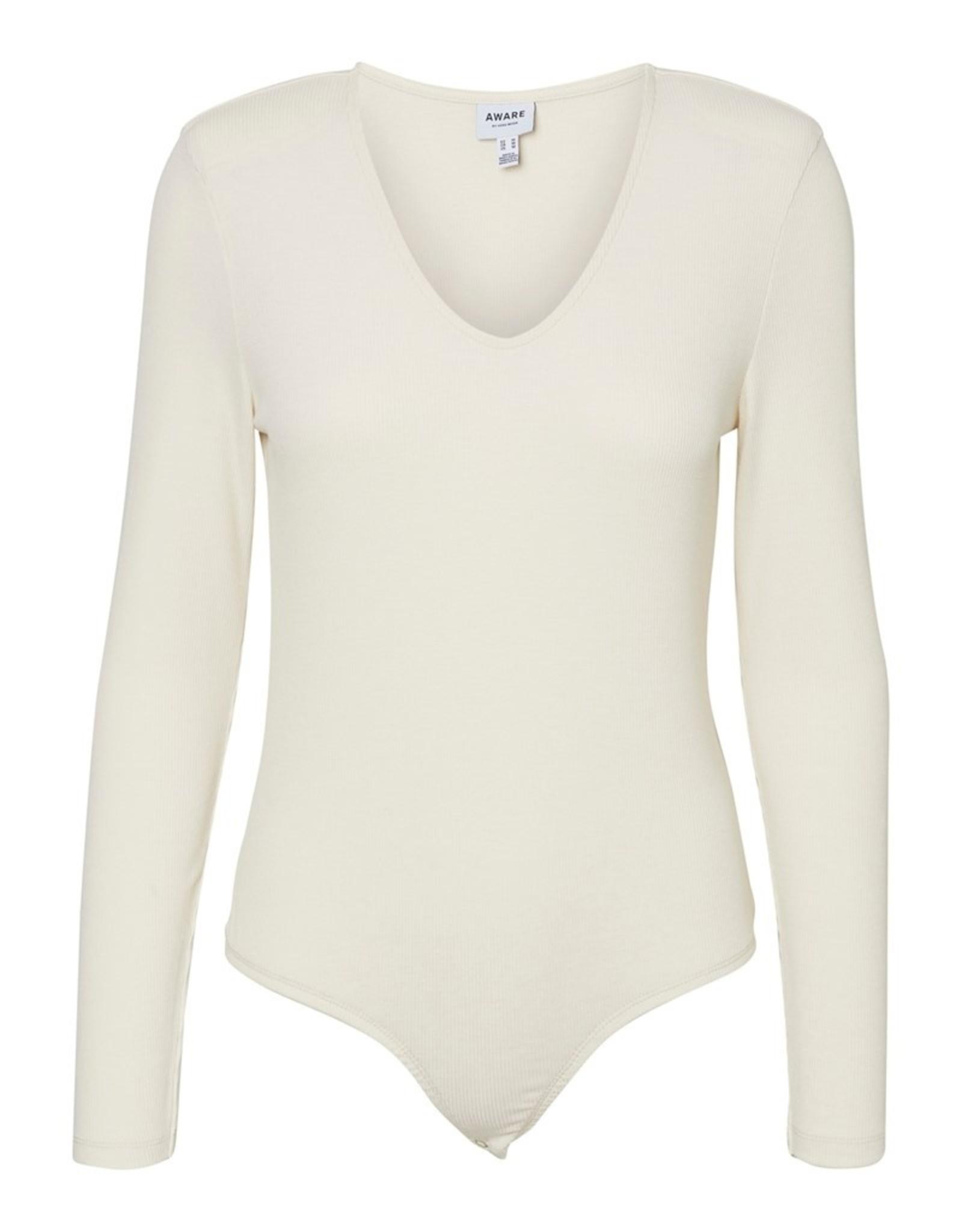 Vero Moda Ramone Ribbed Scoop-Neck Bodysuit