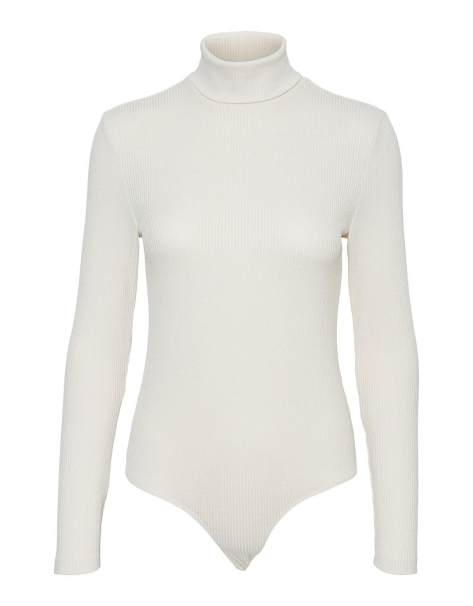 Vero Moda Ruthie Ribbed Turtleneck Bodysuit