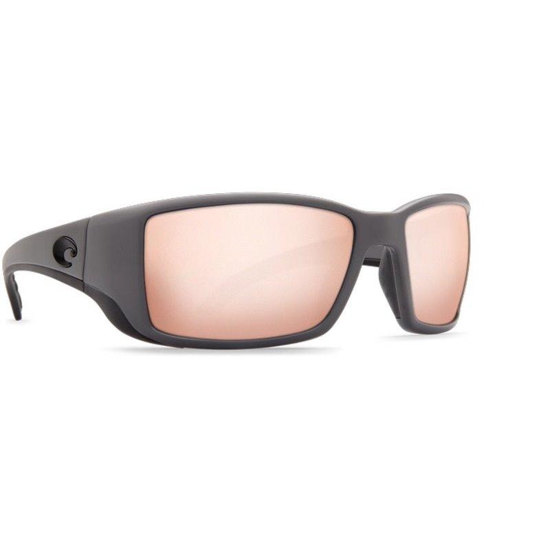 Costa Del Mar Costa Blackfin Pro - Matte Grey - Copper Silver Mirror 580G