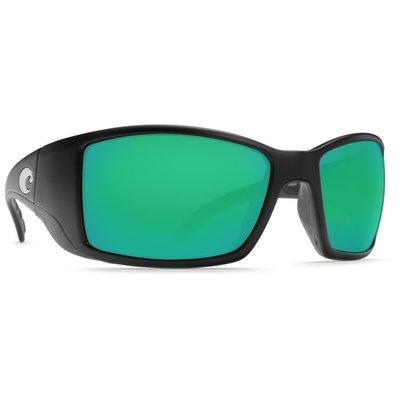 Costa Del Mar Costa Blackfin - Matte Black - Green Mirror BL 11 OGMGLP
