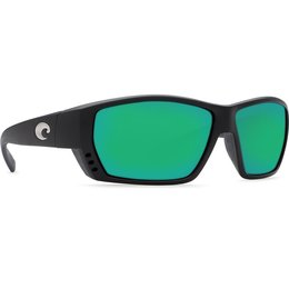 Costa Del Mar Costa Tuna Alley - Matte Black - Green Mirror TA 11 OGMGLP