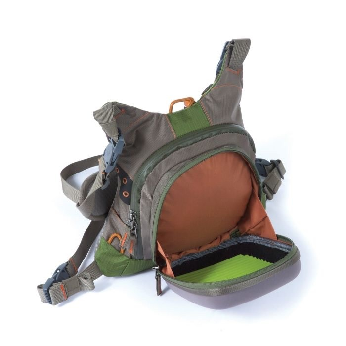 NEW FISHPOND OXBOW FLY FISHING BACKPACK WITH CHESTPACK FREE U.S SHIPPING