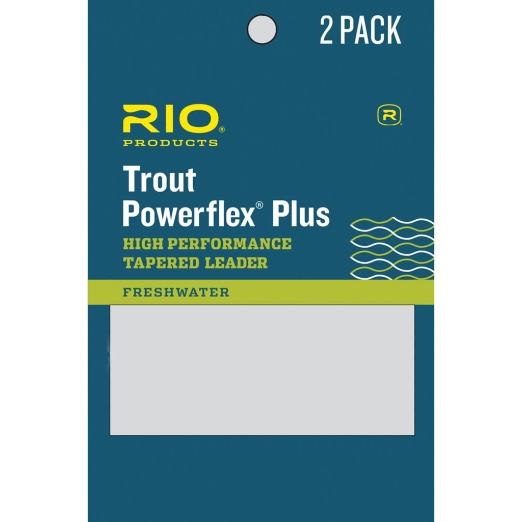 Rio Powerflex Plus Leaders 2 Pack