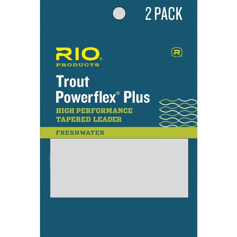 Rio Powerflex Plus Leaders 2 Pack | 1X | 2X | 3X | 4X | 5X