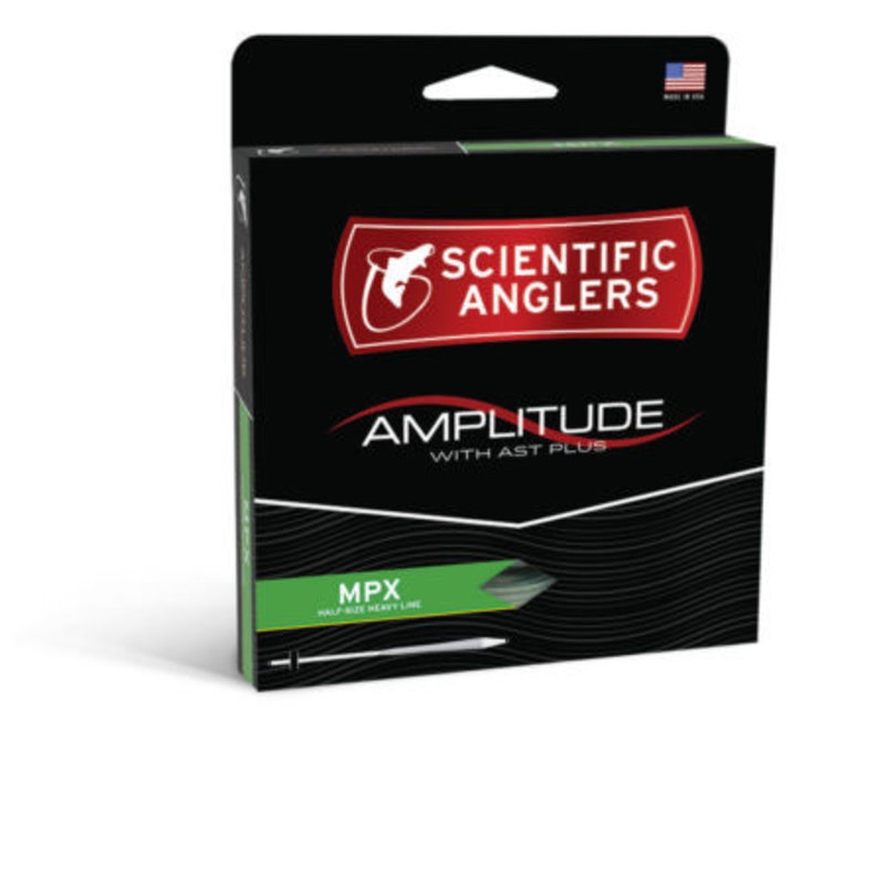 Scientific Anglers Scientific Anglers Amplitude MPX Fly Line | Optic Green/Moss/Buck