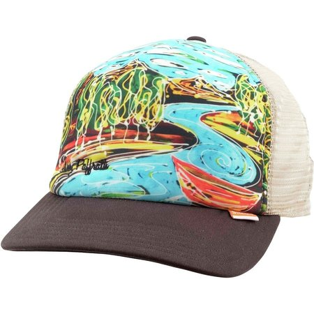 Simms Fishing Products Simms Artist Trucker Dripping Trees Abby Paffrath Bark